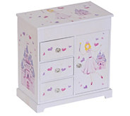 Mele & Co. Adalyn Girls Musical Ballerina Jewelry Box - H290432