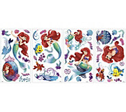 RoomMates The Little Mermaid Peel & Stick WallDecals - H291532
