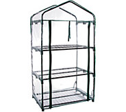 Pure Garden 3-Tier Mini Greenhouse with 3 Shelves and Cover - H295332