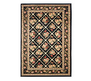Lyndhurst Floral Lattice Power Loomed 67 x 96 Rug - H356832