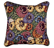Pansies Pillow - H361632