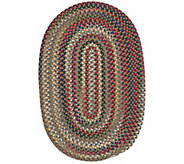 Chestnut Knoll 2 x 3 Oval Braided Rug by Colonial Mills - H130033