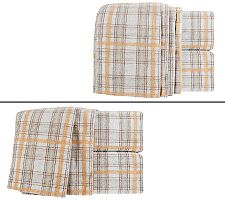 Amadeus Brooks Heather Flannel Sheet Set w/Extra PCs