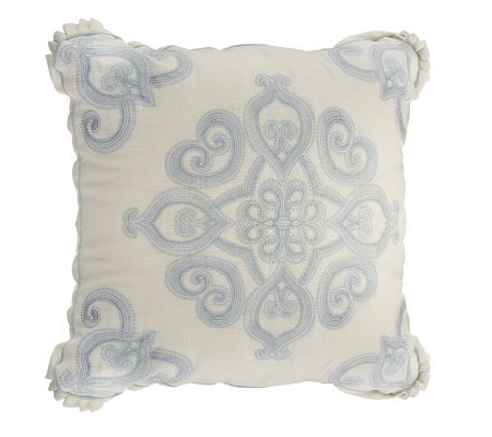 Qvc Decorative Pillows : Phoebe Howard Home 20