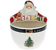 Spode Christmas Tree Figural Santa Bowl - H205433