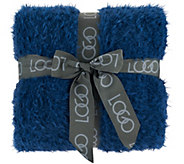 LOGO by Lori Goldstein 50x70 Faux Fur Throw - H207533