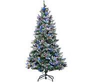 ED On Air Santas Best 9 Frosted Simon Tree by Ellen DeGeneres - H209433