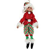 Floridus Elves 16 Rollins Elf Figurine - H209733
