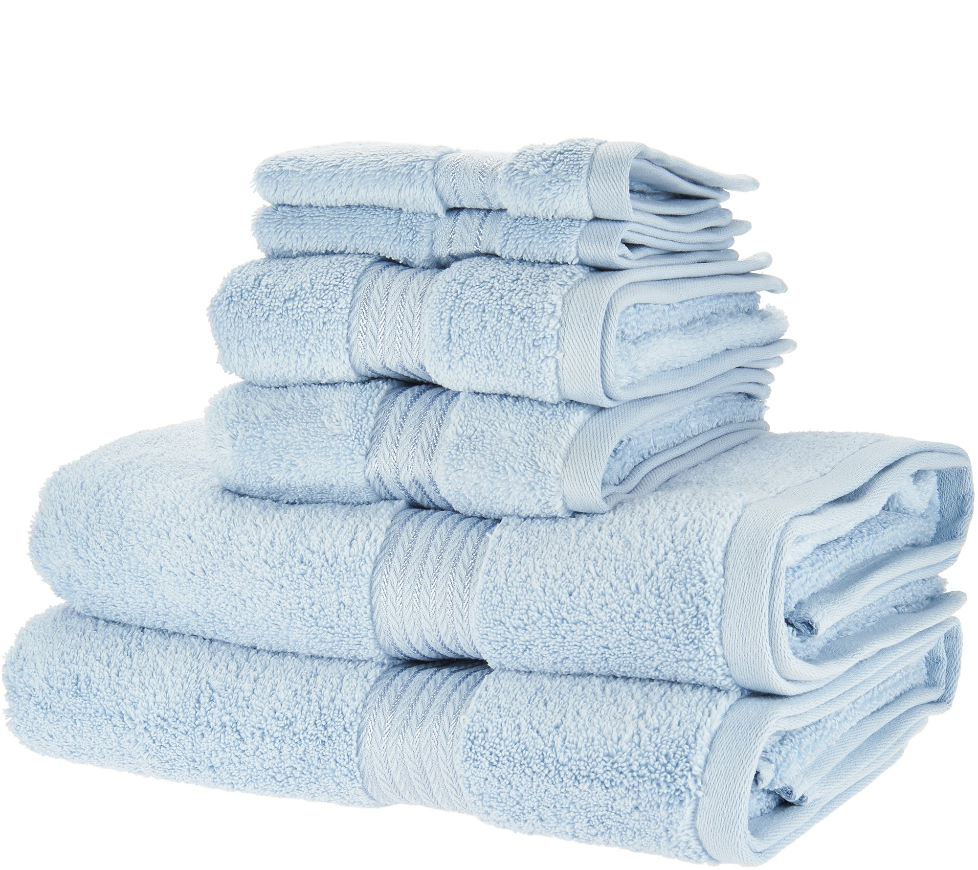 Charisma Classic 6 Piece 100% Cotton Towel Set   Page 1 U2014 QVC.com
