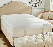 Perfect Fit Invisiwire Microplush Queen Mattress Pad - H213133