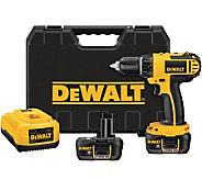 DeWalt 18-Volt 1/2 Compact Drill/Driver Kit - H281433