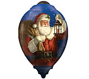 Limited Edition Dated 2016 Santa Ornament by NeQwa - H289133