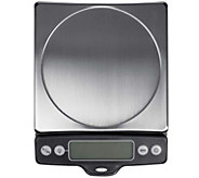 OXO Good Grips 11-lb Stainless Steel Pull-Out Display Scale - H289333