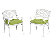 Home Styles Biscayne 5-pc Outdoor Set 48 w/ Arm Chair/Cushio - H358333