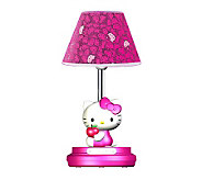 Hello Kitty 16-1/2 Magenta Table Lamp - H359033
