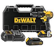 DeWalt DCD780C2 20-Volt Li-ion Compact Drill Driver Kit - H364733