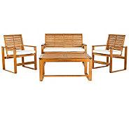 Safavieh Ozark 4-Piece Outdoor Patio Set - H366033