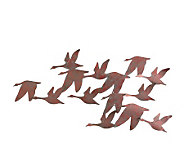 Flock of Geese Metal Wall Art - H155534