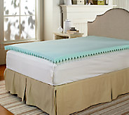 Pedic Solutions 3 Gel Wave Zoned Queen Mattress Topper - H206834