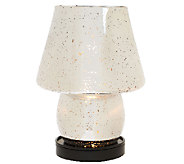 As Is Mercury Glass Illuminated Plug-In Lamp by Valerie - H207234