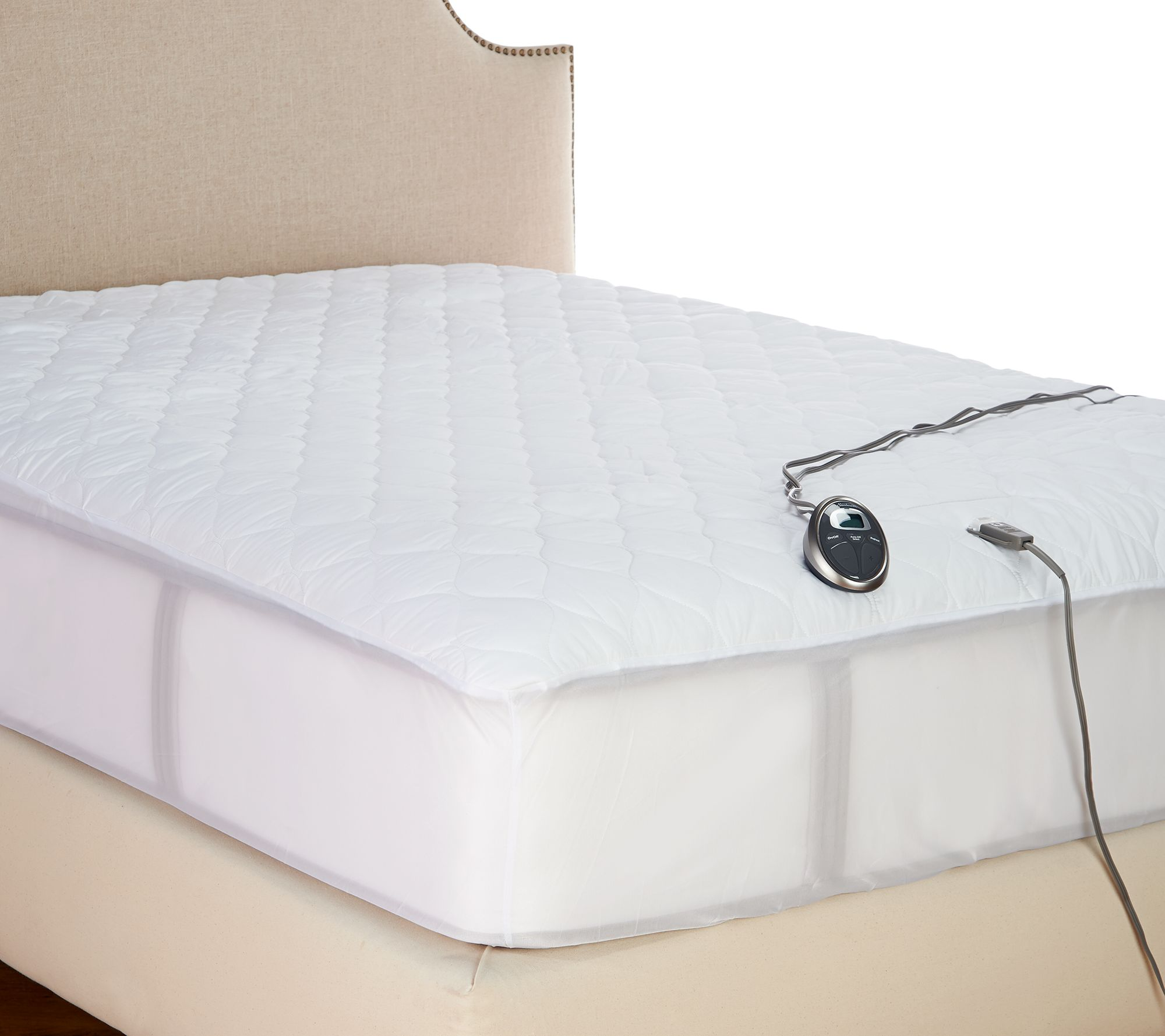 Sunbeam Queen Heated Mattress Pad Page 1