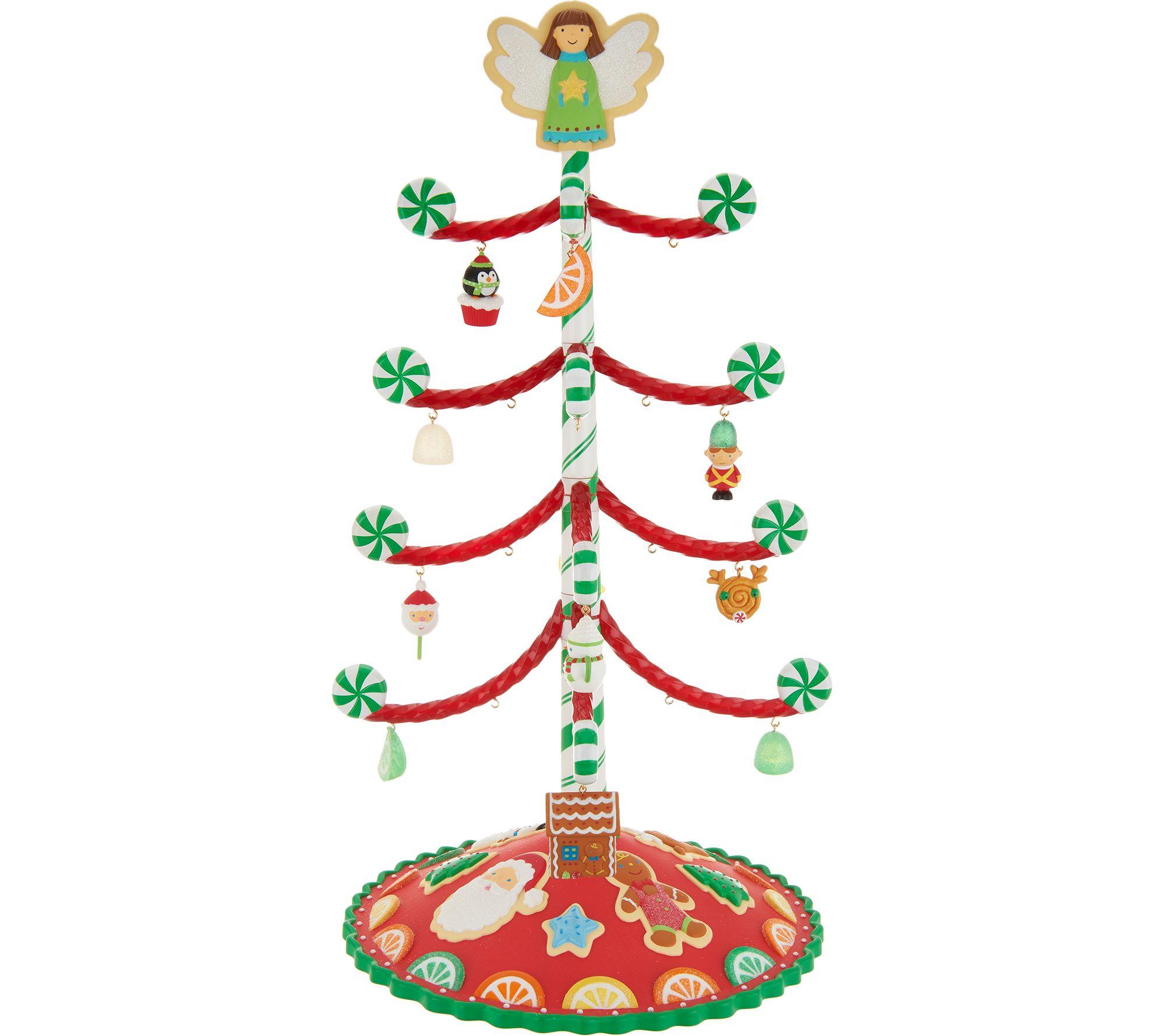 Hallmark Keepsake 14 Sweet Treats Christmas Tree W 12 Ornaments