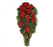 35 Grande Holiday Door Swag by Valerie - H285634