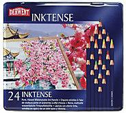 Derwent Inktense 24-Piece Colored Pencil Set - H288934