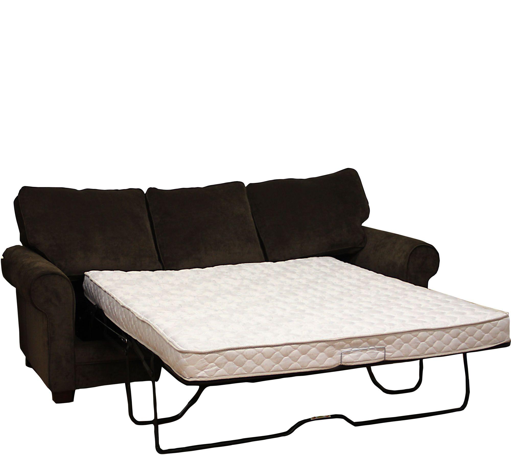 Pedicsolutions innerspring 5quot plush full sofa bed mattress for Qvc sofa bed