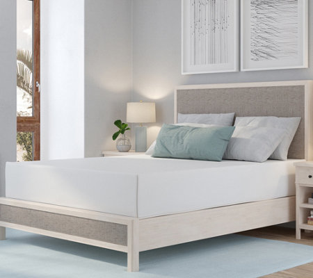 "PedicSolutions 12"" Twin Memory Foam Mattress — QVC"