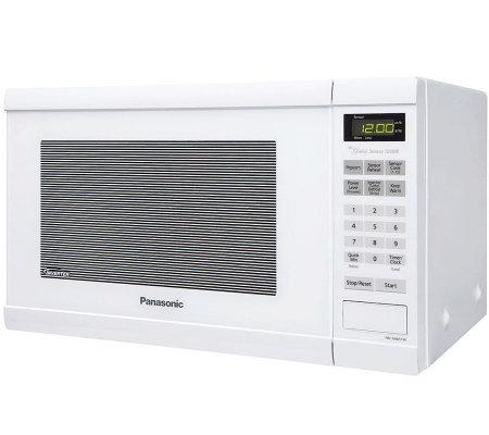 Countertop Oven White : ... Cu. Ft. 1200W Countertop Microwave Oven - White ? QVC.com