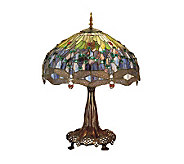 Tiffany Style 31 Hanging Dragonfly Table Lamp - H122435