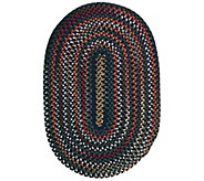 Chestnut Knoll 3 x 5 Oval Braided Rug by Colonial Mills - H130035