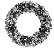 ED On Air 18 Metal Floral Wreath by Ellen DeGeneres - H207035