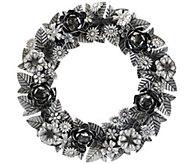 ED On Air 18 Metal Floral Wreath by Ellen DeGeneres - H207035