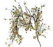 4 Egg and Wildflower Garland by Valerie - H207935
