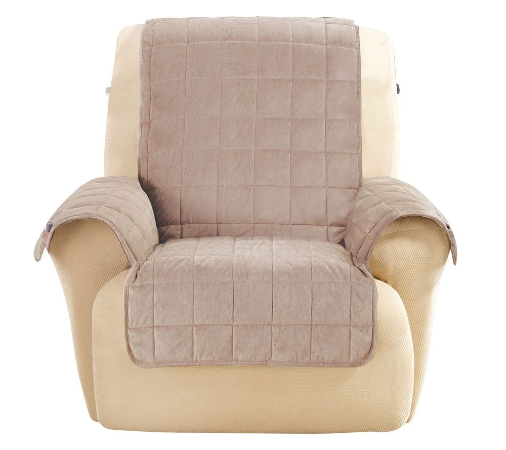 Surefit Deluxe Comfort Recliner Furniture Cover W/ Non