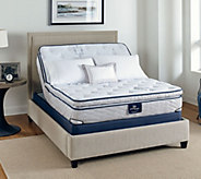Serta Perfect Sleeper Bravo Pillowtop KG Mattress w/ Adjustable Base - H209135