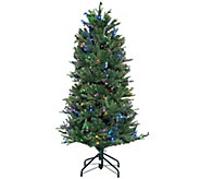 ED On Air Santas Best 5 Blue Royal Spruce Tree by Ellen DeGeneres - H209435