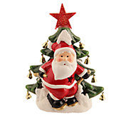 Holiday Arbor Illuminated Holiday Decor CeramicFigurine - H282535