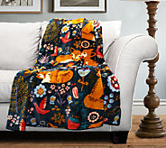 Pixie Fox Flannel Throw by Lush Decor - H287835