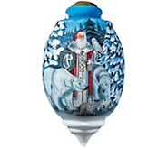 Limited Edition Arctic Santa Ornament by NeQwa - H289135