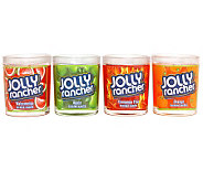 Set of 4 Jolly Rancher Tumbler Candles by Valerie - H359335