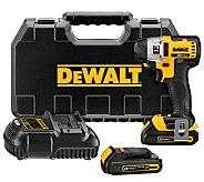 DeWalt DCF885C2 20-Volt Li-ion Compact 1/4 Impact Driver Kit - H364735