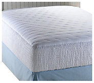 Croscill 300TC Sateen Stripe Full Mattress Pad - H142836