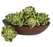 5 Artichoke (Set of 6) by Nearly Natural - H179236