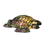 Tiffany Style 4-1/2H Turtle Glass Accent Lamp - H181336