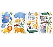 RoomMates Jungle Adventure Peel & Stick Wall Decals - H186236