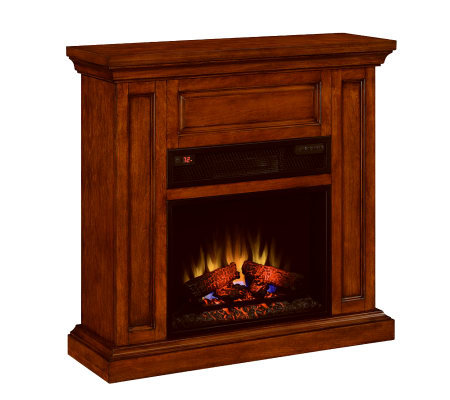 Thompson Vent Free Elect Fireplace w/Thermastat Control