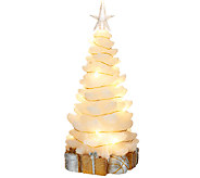 Lightscapes 11 Swirl Light Christmas Tree Figurine - H206036